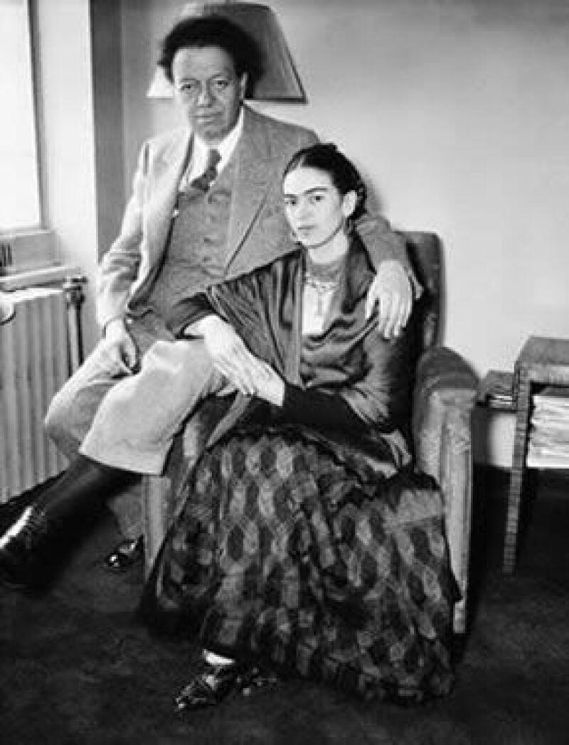 El Museo Casa Azul Frida Kahlo presenta obras que reflejan la vida diaria de la pareja.