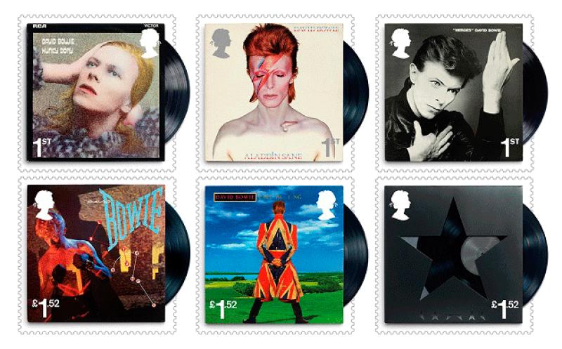 Estampas de David Bowie