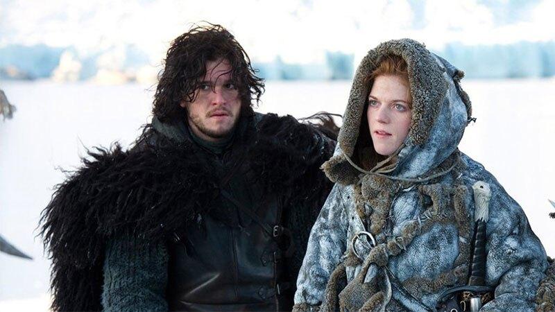 Jon Snow e Ygritte