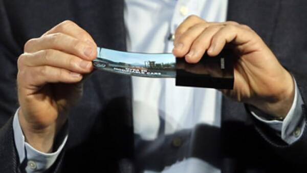 La compañía coreana mostró la novedad este miércoles durante una presentación en el marco de la feria International CES. (Foto: AP)