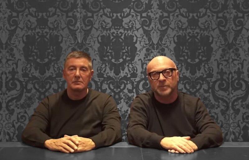 dolce-&-gabbana-Domenico-Dolce-Stefano-Gabbana-se-disculpan