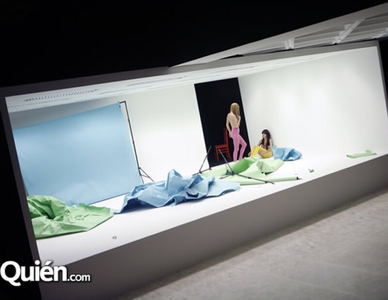 Una de las nuevas exhibiciones del museo con modelos en carne y hueso