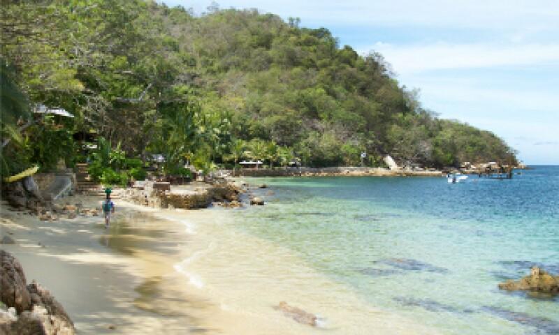 Las paradisíacas costas del Pacífico mexicano son la más reciente adquisición de la sección Special Collections de Google Maps. (Foto: Google Maps)