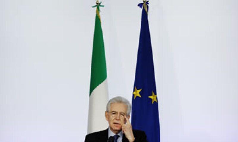 A finales de 2011 Monti tomó las riendas de Italia luego de que Silvio Berlusconi fuera obligado a renunciar. (Foto: Reuters)