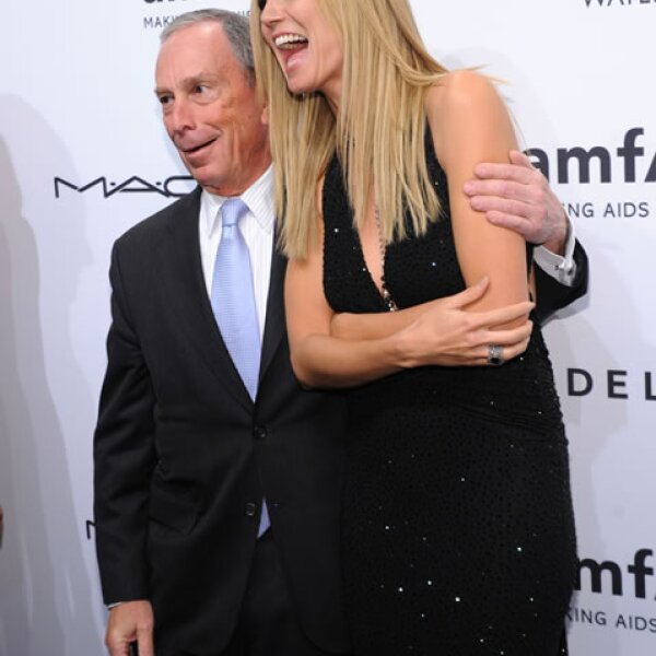 Heidi Klum y Michael Bloomberg