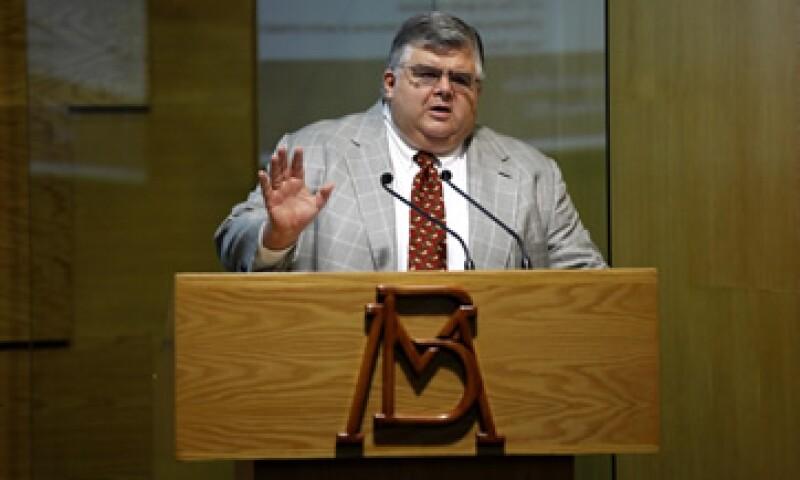 Agustín Carstens dijo que el Banco Central actuará de manera responsable en la instrumentación de política monetaria. (Foto: Notimex)