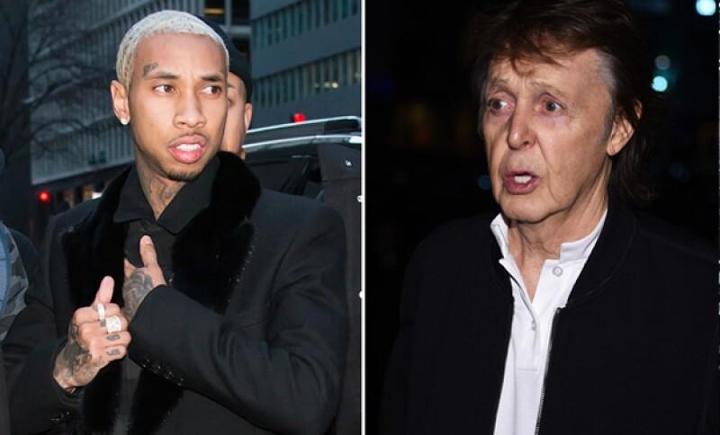 El ex integrante de los Beatles no pudo entrar junto con Beck a la fiesta organizada por el novio de Kylie Jenner. &#39¿Qué tan VIP tenemos que ser?&#39, dijo el músico.