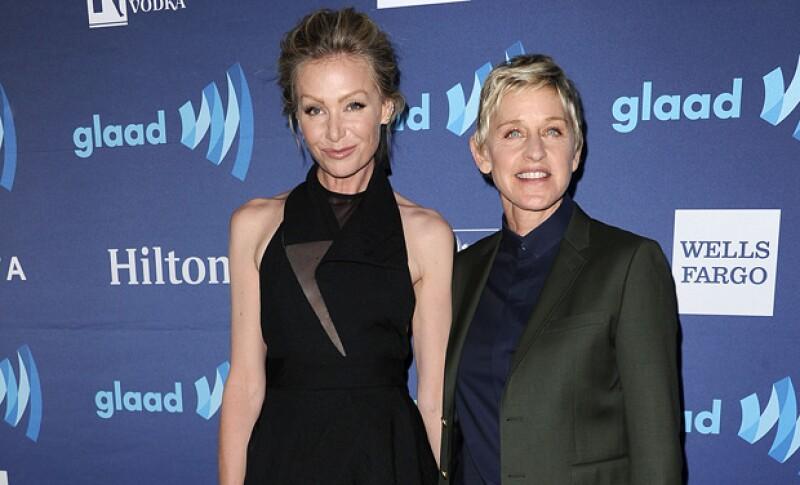 Ellen es 15 años más grande que Portia.