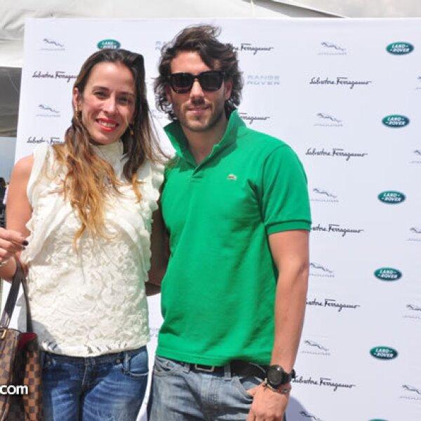 Roberta Lobeira y Mauricio Díaz