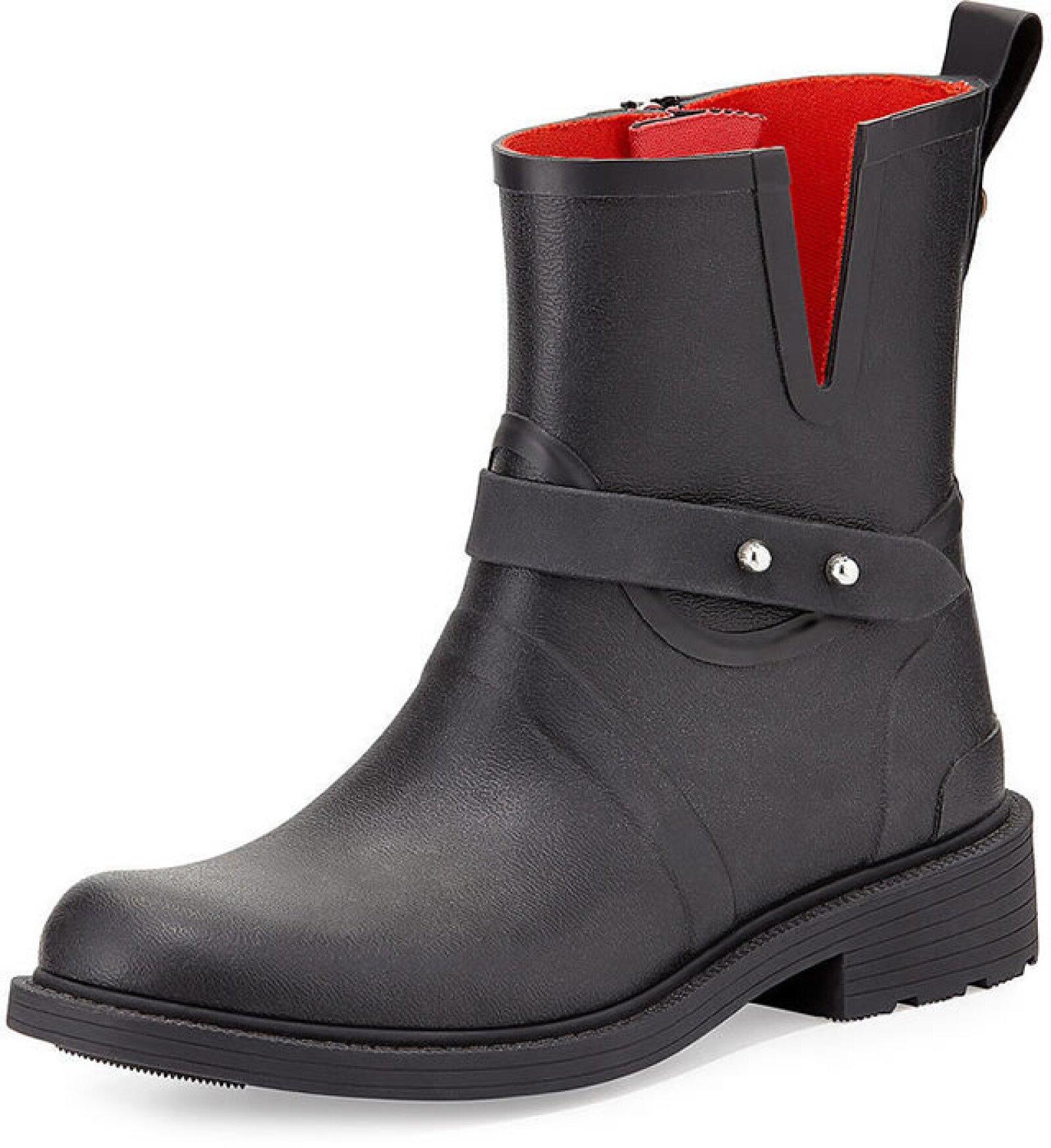 Lo que nos gusta de las Rag & Bone es que no tienen el look de la clásica bota de lluvia y pueden pasar como cualquier bota de piel.