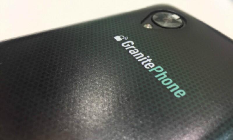 El Granitephone estará disponible en junio en México, dicen sus fabricantes. (Foto: Francisco Rubio)
