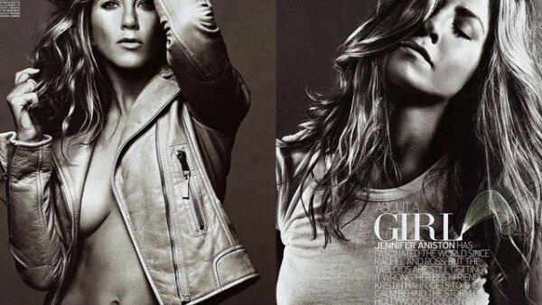 En la edición de septiembre de la revista Elle de Estados Unidos, Jennifer Aniston simplemente dejó sin habla.