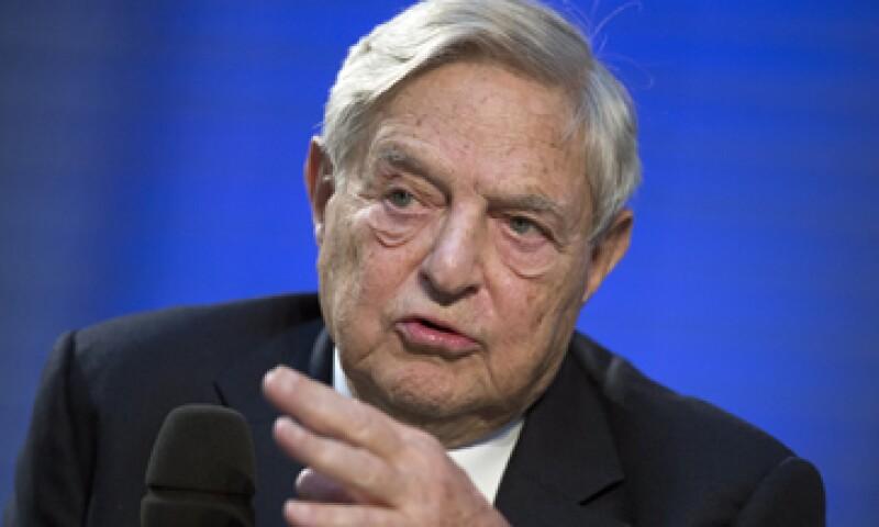 George Soros es la séptima persona más rica del mundo según la revista Forbes. (Foto: AP)