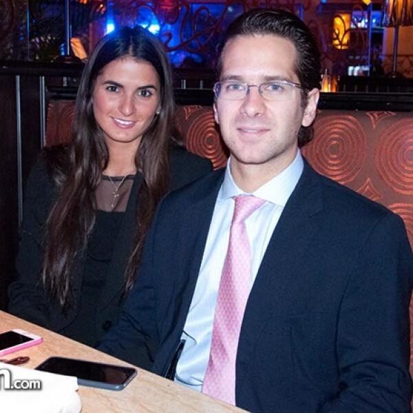 Lucila Couturier y Luis Amodio