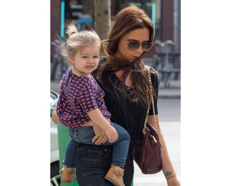 La más pequeña de los Beckham cumplió ayer dos años, motivo por el que recibió múltiples felicitaciones a través de su mamá.