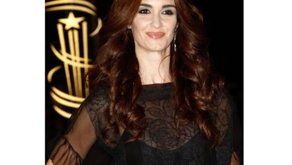 La actriz española ha levantado controversia luego de la publicación de su calendario 2012, en el cual aparece desnuda frente a imágenes religiosas.