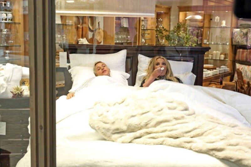 Esto es lo que pasa cuando Ellen y Britney van al mall y presumen que son celebs.