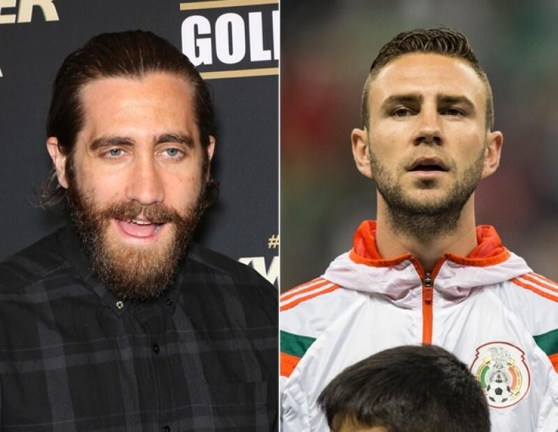 Jake Gyllenhaal y Miguel Layún