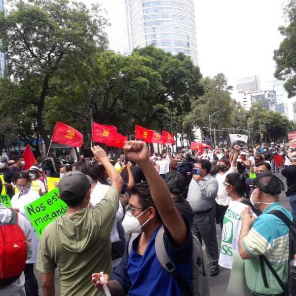 protesta médicos