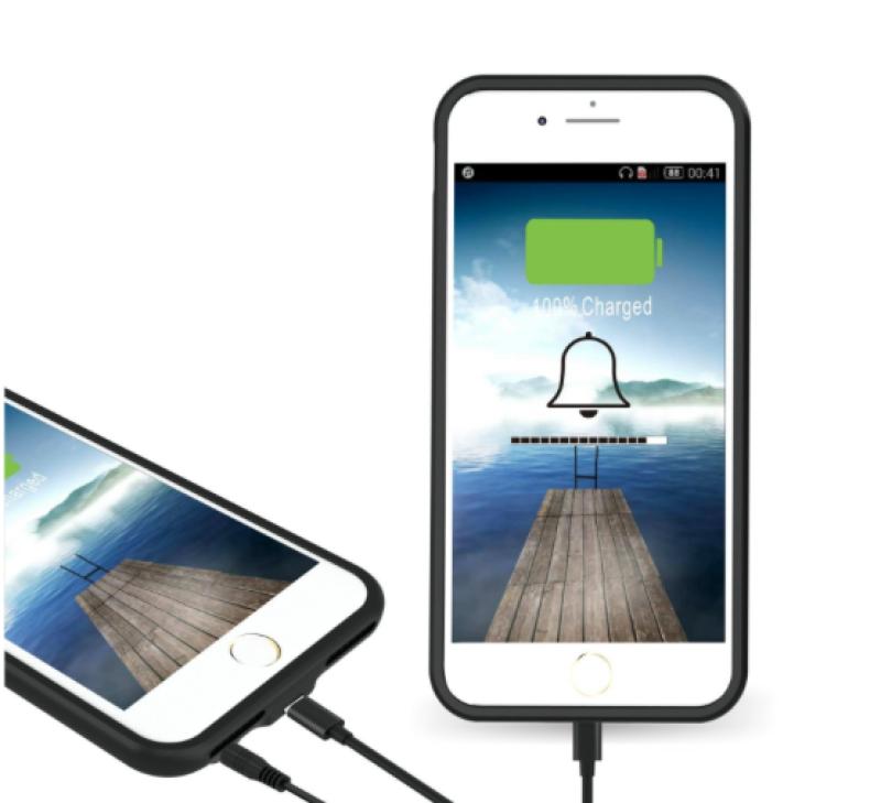 Case con jack de audífonos para iPhone 7, 8 y X