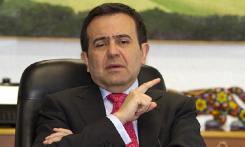 El Secretario de Economía, Ildefonso Guajardo, dijo que ya están en marcha las zonas especiales en México. (Foto: Notimex)