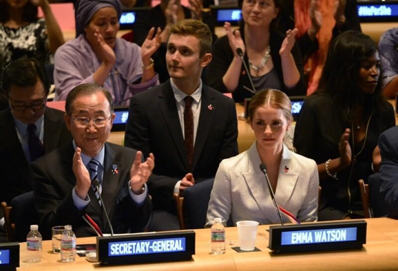 """La actriz estuvo presente en el lanzamiento de la campaña """"HeForShe"""" que busca acabar con la inequidad de género, el discurso de Emma fue bastante elocuente."""