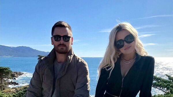 Scott Disick y Khloe Kardashian.