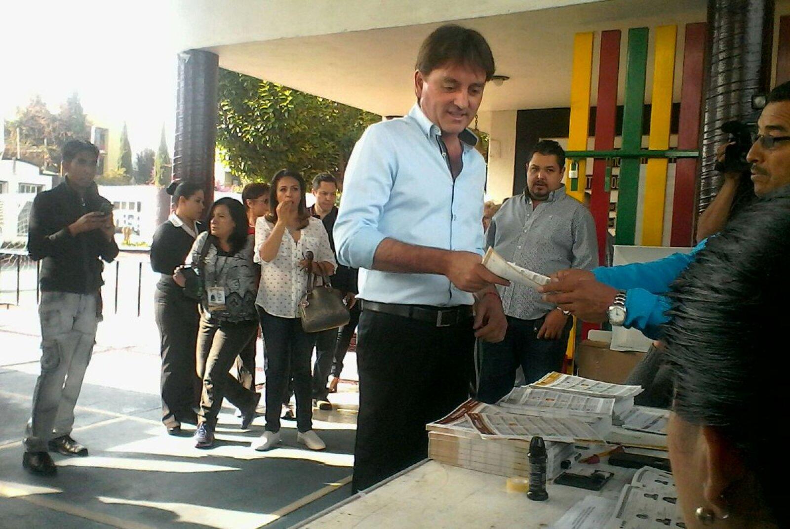 Francisco Xavier Berganza, candidato del PAN al gobierno de Hidalgo, dijo que impugnará la elección en la entidad aunque gane los comicios de este domingo con el fin de abonar a la democracia.