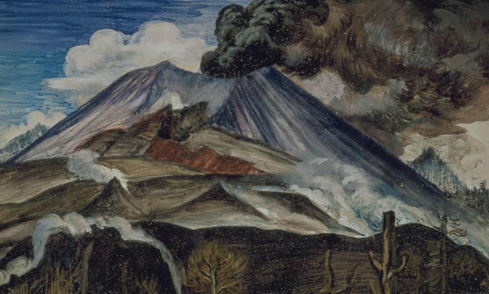 """La renovación del mundo artístico, opuesto a las enseñanzas clásicas de la Escuela Nacional de Bellas Artes permitió la entrada de las vanguardias europeas. Murillo, también conocido como """"Dr. Atl"""", apelaba notablemente a las nuevas propuestas."""