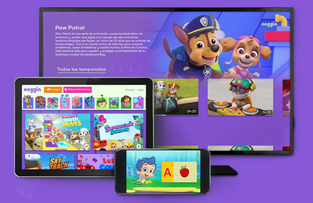 Noggin, el streaming de Nickelodeon para los más pequeños de la casa