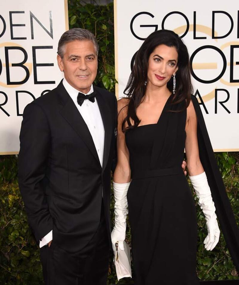 En su aniversario número 37, la esposa de George Clooney celebró de la manera más íntima, en compañía de algunos amigos y por supuesto, con el actor.