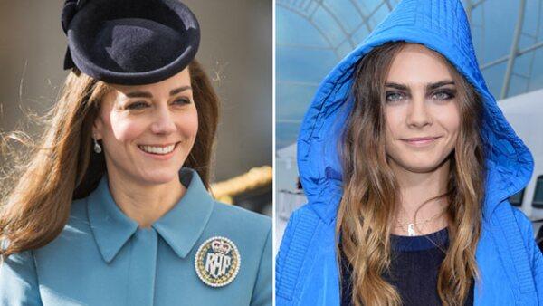La duquesa de Cambridge ha decidido apostar por la tendencia de cejas gruesas, mismas que definen la imagen de la topmodel británica.