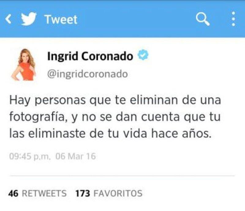 Sin embargo, Ingrid no se quedó callada y esto fue lo que respondió.
