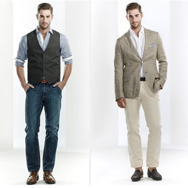 Una indumentaria informal no significa elegir prendas al azar. Chinos, polos y zapatos de cordones son piezas básicas para estos momentos.