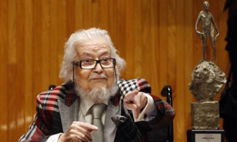 Fernando del Paso es autor de obras como 'Palinuro de México'. (Foto: Cuartoscuro )