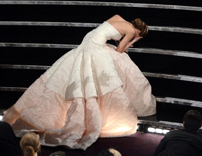 Jennifer Lawrence se postula como una de las reinas de los osos en Hollywood.