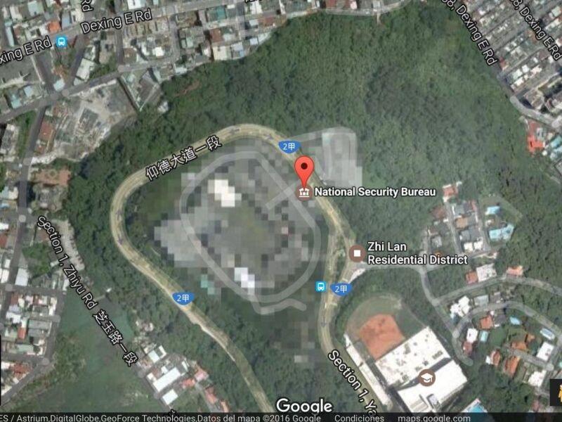 Lugres escondidos por google maps