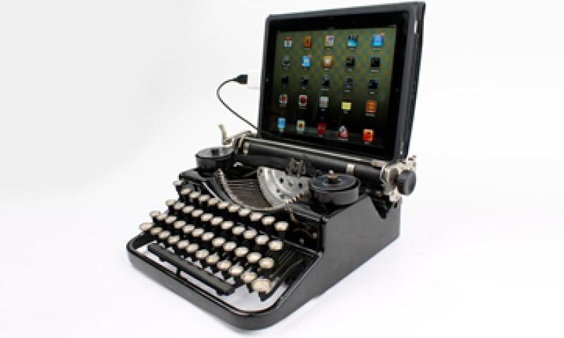 Se requieren sólo dos horas para tranformarla en un teclado. (Imagen tomada de www.usbtypewriter.com)