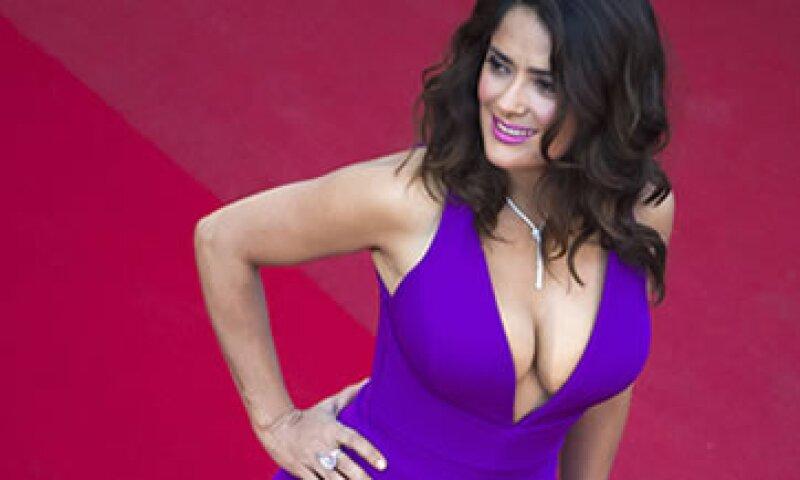 La actriz mexicana fue invitada a un panel sobre equidad de género en Cannes. (Foto: Reuters )
