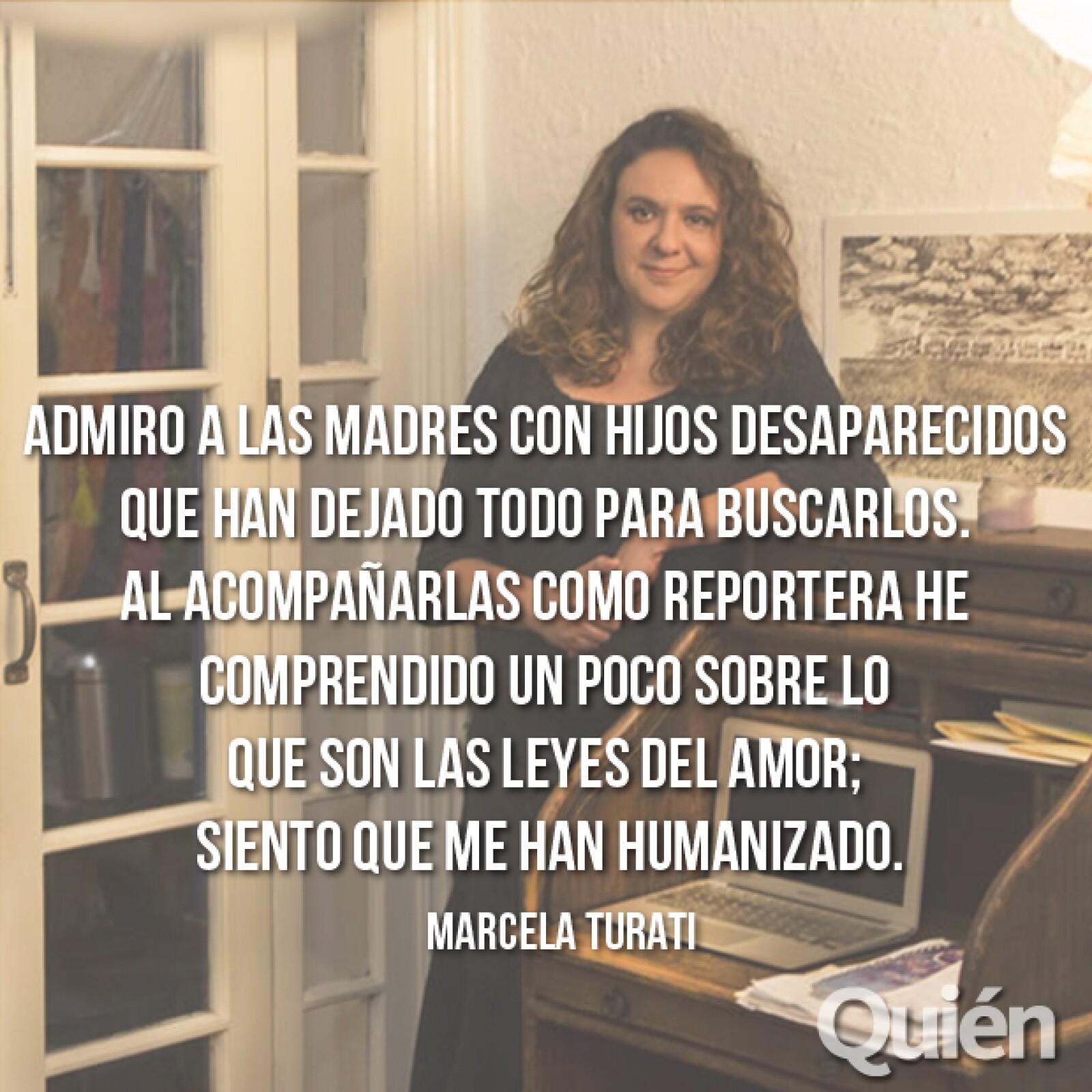 Marcela Turati, periodista. Ganó el premio Gabriel García Márquez a la Excelencia.
