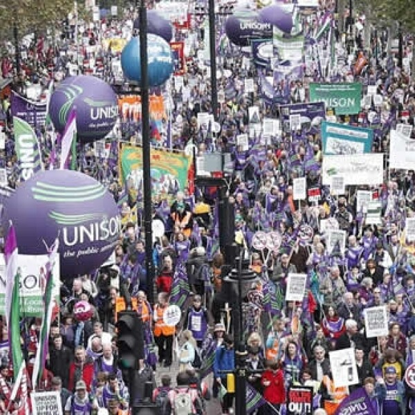 Londres protestas recortes 7