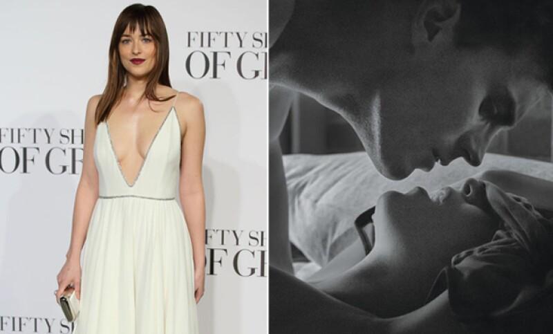 La actriz no había visto nada parecido a la esperada cinta erótica.