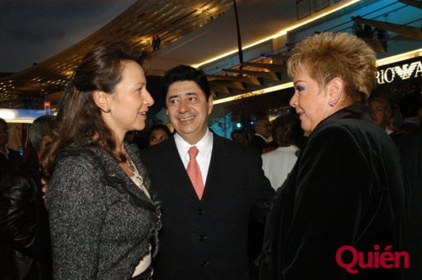Adriana Nuñez, Alvaro Gazca, Maricela Gazca