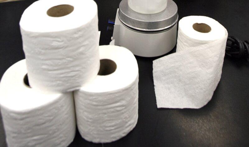 No solamente papel higiénico