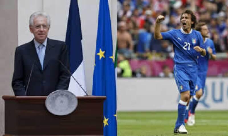 El partido entre Italia y Croacia terminó empatado a un gol. (Foto: Especial)