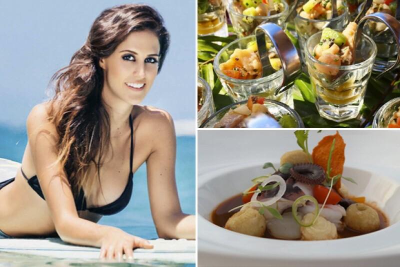 Alejandra Begún y el resto de las niñas guapas recordaron lo deliciosa que estuvo la comida durante el viaje.