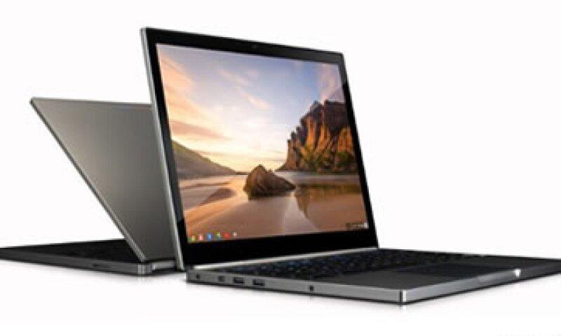 Google afirma que muchas empresas que utilizan sus productos necesitan una buena laptop basada en Chrome. (Foto: Cortesía CNNMoney.com)