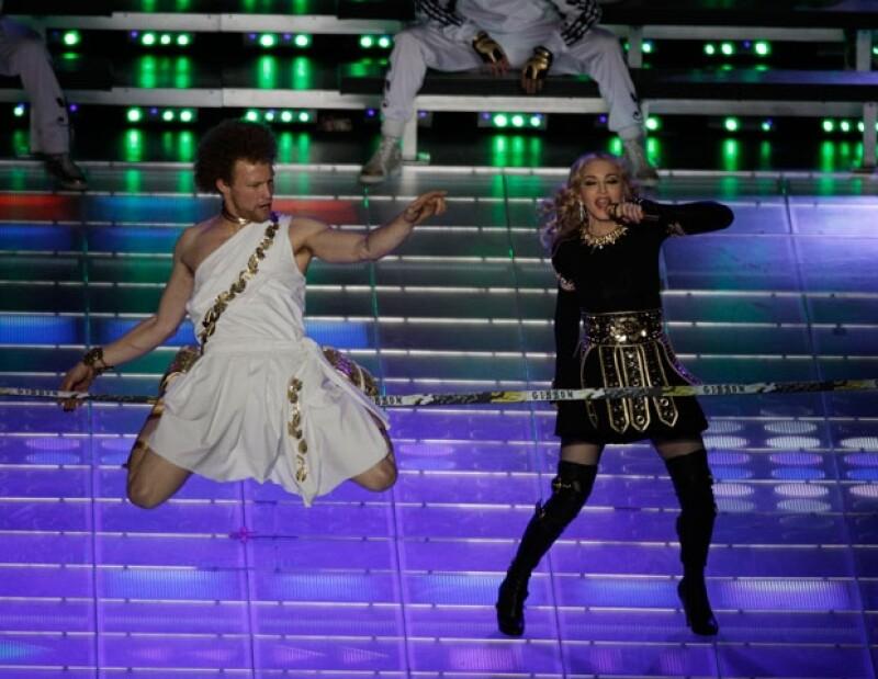 El Dios Mercurio acompañó a Madonna, quien demostró que sigue siendo la Reina del Pop.