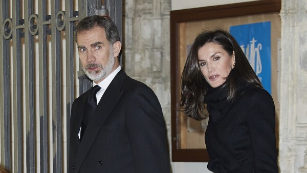 Spanish Royals Attend Placido Arango's Funeral