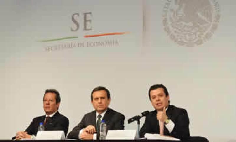 El secretario de Economía, Ildefonso Guajardo, presentó este miércoles a los medios la iniciativa. (Foto: Cortesía de la Secretaría de Economía.)